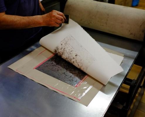 Gravure tirage2 Atelier du Thabor